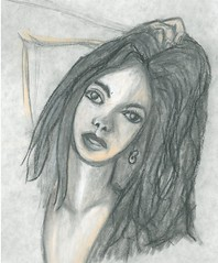 spicy chalk pencil (DREADNOUGHT2003) Tags: pencil doodle chalk paints drawings art sketch