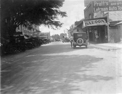 West Main Street (lakelandlibrary) Tags: streets commercial district automobiles signs