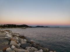 Evening coast (sander_sloots) Tags: coast evening toulon sunset sea middellandse zee rocks var provence kust mer zonsondergang avond