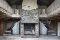 ...livin lodge... (Art in Entropy) Tags: abandoned urbex exploration explore urban decay creepy resort lodge fireplace architecture adventure grime