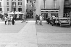 Piazza Volta n. 0563 (sirio174 (anche su Lomography)) Tags: centovolte piazza piazzavolta waynewang smoke film movie como italia italy