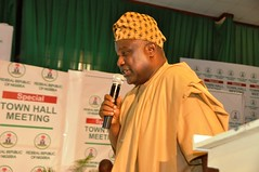 Special Town Hall Meeting on Infrastructure in Ibadan, 25th Oct. 2018