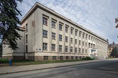 Okresní soud v Náchodě (Maciej Dusiciel) Tags: architecture architectural city urban street building town modern modernism nachod czech republic travel europe world sony alpha