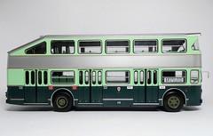 1961 Fiat 412 Aerfer (dougie.d) Tags: autobusetautocarsdumonde autobus bipiano doubledecker autobusbipiano bus modelbus busmodel modelautobus fiat 412 aerfer 1961 fiat412 firenze florence automodel modelauto ixo hachette 143 scale diecast model