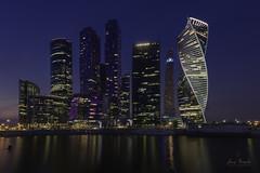 Moscow-City (Luis R.C.) Tags: nocturnas edificios paisajes viajes moscú nikon d610