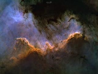 Cygnus Great Wall - Testshot