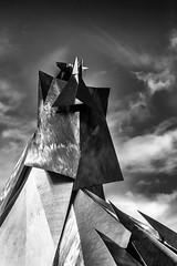 Bergen Samurai (aha42 | tehaha) Tags: bergen noreg norge norway olavkyrre art sculpture skulptur hordaland no bw