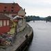 Danube (Donau) River in Regensburg