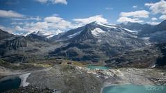 Three Lagoons (dobetoh) Tags: nikon d3300 austria landscape lagoon lake water mountain mountains snow september europe alps summer travel trip