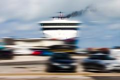 Fjord Line, Hirtshals (Kai Rennert) Tags: fjordline hirtshals denmark dänemark ship ferry blured blurism blur