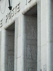 DSCF9832 (Benoit Vellieux) Tags: france lyon 2èmearrondissement 2nddistrict 30s architecture generalpostoffice posteprincipale postecentrale hauptpost hauptpostamt placeantoninponcet sculpture skulptur