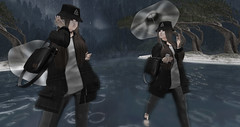 Under the rain (  free ) (Lady nona cat) Tags: roup gift hair shoes skin body catwa maitreya mesh belleza free second life sl style jewelry freebies