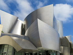 Let's meet at the Concert Hall. (vickilw) Tags: waltdisneyconcerthall losangeles california architecture building disney gehry