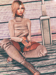◈№. 606 - woman like me (αlιcα r. vαɴ нell) Tags: catwa maitreya navycopper fameshed c88 collabor88 vanilla bae equal equal10 sl secondlife events event girl
