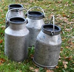 (:Linda:) Tags: germany thuringia village bürden four milkchurn