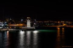 Lighthouse port (MIKAEL82KARLSSON) Tags: gränna night natt nightshot nightphoto nattfoto småland jönköping polkagris sverige sweden vättern street park sony a7ll samyang 50mm mikael82karlsson