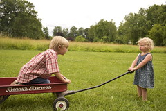 (Jayda Gunduz) Tags: kids siblings wagon field fun playing candid naturallighting cute rustic