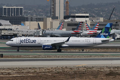 Airbus A321 jetBlue N969JT (NTG842) Tags: los angeles international airport lax airbus a321 jetblue n969jt