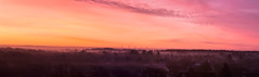 morgenrøde (kwjensenphoto) Tags: dawn red nature horizon mist