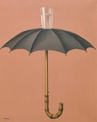 """Hegel's Vacation"", Rene Magritte (1958) (Joey Hinton) Tags: sanfrancisco california unitedstates rene magritte exhibit museum modern art google pixel2 andriod smartphone cellphone cameraphone phone"