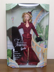 Fabulous Forties Great Fashions of the 20th Century Barbie Doll 1940s (Tamara Tarasiewicz) Tags: barbie 1940s mattel collectoredition fabulousforties greatfashions glamorous elegant stole