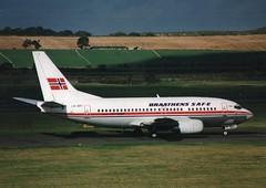 EDI 737 (Gerry Rudman) Tags: braathens safe ln brt boeing 737505 edinburgh
