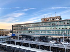 Montreal Trudeau international style terminal