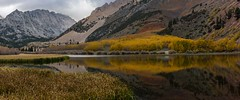 Fall Storm (CloudRipR) Tags: mountains lake water reflection fall color aspen clouds storm california bishop nikon d810 nikkor