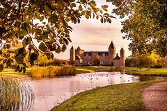 Castle Westhove (Danny Bastiaanse) Tags: castle westhove kasteel sunset zeeland oostkapelle domburg holland