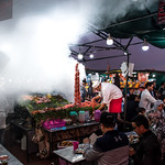 Smoking food stall at Marakkesh's Jemaa el Fna place, Morocco. thumbnail