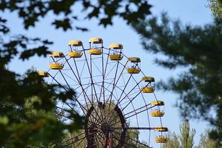 Ferris Wheel, Pripyat, Chernobyl, Ukraine