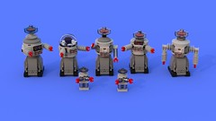B9 Robot madness (Swijak) Tags: lego robot robby robbie b9 lostinspace