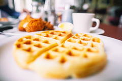 Chicken and Waffles, Lois the Pie Queen, Oakland, California (Thomas Hawk) Tags: bayarea california eastbay friedchickenandwaffles loisthepiequeen oakland sfbayarea us usa unitedstates unitedstatesofamerica westcoast breakfast chicken chickenandwaffles foodporn restaurant emeryville fav10 fav25 fav50