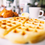 Chicken and Waffles, Lois the Pie Queen, Oakland, California thumbnail