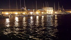 Night Reflections (mustafaahat1969) Tags: reflections izmir pier konak