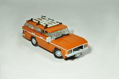 1977 Ford Granada Mk1 (02) (Mateusz92) Tags: lego moc afol zbudujmy car ford granada mk1