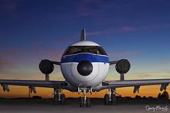 VFW-Fokker VFW-614 (Gary Beale) Tags: vfwfokker vfw614 dasdb lufthansa technical training kemble threshold aero nightshoot