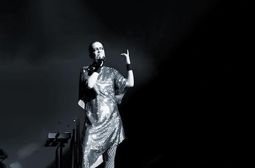 Shirley Manson, B&W