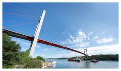 Tjörnbron (leo.roos) Tags: tjörnbron bridge brug tjörn bohuslän scherenkust archipelago sweden zweden swedenspring2018 a7rii darosa leoroos voigtlanderheliarhyperwide10mmf56 voigtlander1056 emount cosina cv