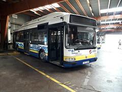 Renault Agora S GNV n°409 (alexandrebertrand60) Tags: bus dépôt stde dkbus dunkerque agora s gnv l renault irisbus