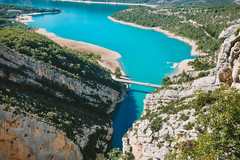 Gorges du Verdon (mhoechsmann) Tags: 2018 europe france gorgesduverdon lake midday provence travel verdon