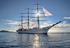 DSC_6689 (yuhansson) Tags: фрегат херсонес море чёрное парусник крым паруса парус корабли корабль путешествие путешествия югансон юрий boat sea sky water vessel ship sailing новыйсвет судак