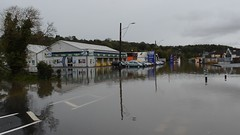 Carmarthen Storm Callum (howell.davies) Tags: movie video dvd business businesses flood flooding water wet motors cars vehicles signs stores nikon d3200 1855mm carmarthen wales uk flooded
