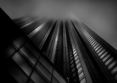 Downtown Toronto Fogfest No 10 (thelearningcurvedotca) Tags: briancarson canada canadian ontario thelearningcurvephotography toronto above abstract architecture background blackwhite blackandwhite building calm city cityscape clouds cloudy concept district downtown environment experimental exterior facade famous financialdistrict fog foggy foto geometric glass haze high icon landmark landscape light lines minimal mist misty modern monochrome morning outdoors outside pattern perspective photo photograph photography scene sky skyscraper street structure sunlight surreal texture tower travel urban view wall weather window