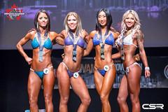 Open Bikini Tall - 4th Launa Klok, 2nd Tia Ricard, 1st Cindy Zhang, 3rd Erica Graham (CanadianPhysiqueAlliance) Tags: 40 45 52 56