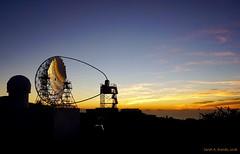 Cherenkov Telescope at Sunset (nathan.bourdeau) Tags: ifttt nasa