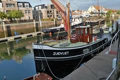 Zuidvliet veerboot (big moustache) Tags: museumhaven zierikzee veerboot zuidvliet zeeland zélande nederland netherlands paysbas