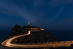 Blue hour (hjuengst) Tags: mallorca majorca blue bluehour bluesky blau blauestunde formentor capdeformentor spain spanien light licht lighthouse leuchtturm balearen