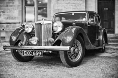 MG (Rich Presswood) Tags: 1940s newsteadabbey nottinghamshire reenactor ww2 fujixpro2 mitakonzhongyi35mmf095 mirrorless portra160nc ilfordhp5 monochrome bw black white silverefex2