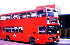 Slide 122-40 (Steve Guess) Tags: west croydon surrey england gb uk bus wandle district london transport buses leyland olympian dualpurpose semicoach excursion l170 d170fym